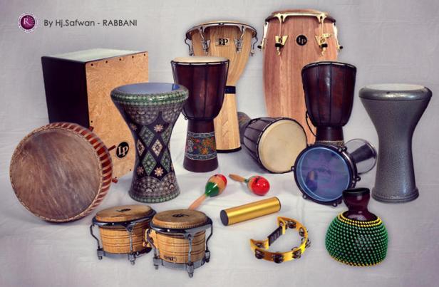 """""""perkusi adalah alat musik pertama yang dikenal manusia kuno"""""""