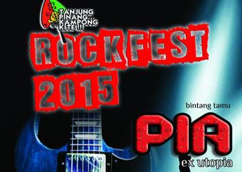 """hajatan festival rock yang digelar di tanjungpinang"""