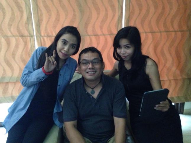Model Klip dan Sutradara, Dedi Ginajar Reksawardana -- Foto: Pepen Bluez